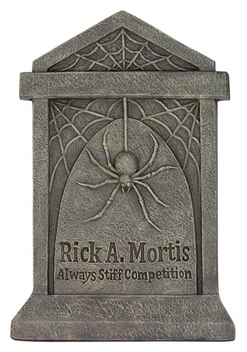 "21"" Rick A. Mortis Gravestone Decoration"