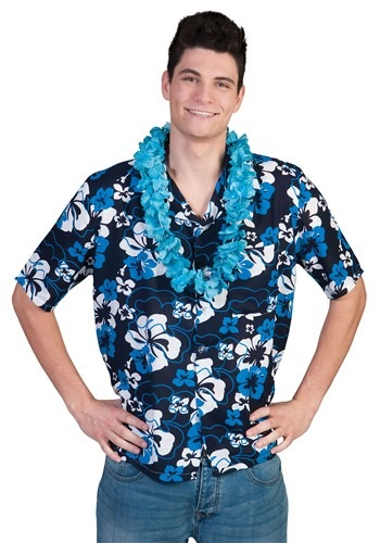 Men's Hawaiian Hibiscus Shirt