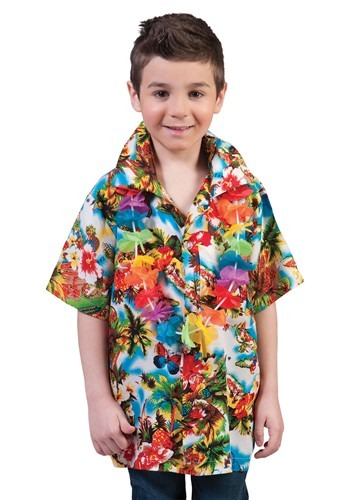 Child's Hawaiin Paradise Shirt
