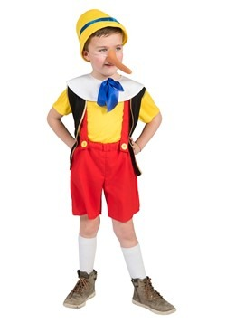 Child's Pinocchio Costume