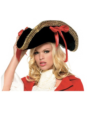 Click Here to buy Ladies Pirate Hat from HalloweenCostumes, USA Funds & Shipping