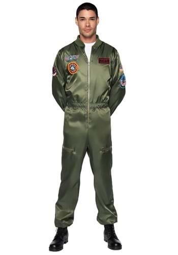 Top Gun Men's Flight Suit Costume
