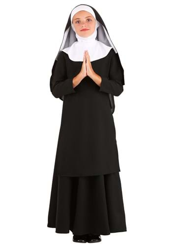 Kids Deluxe Nun Costume