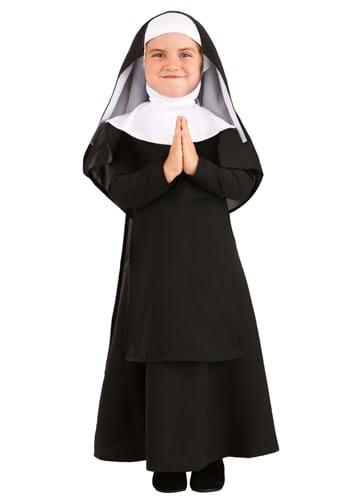 Toddler Deluxe Nun Costume