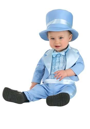 Infant Powder Blue Suit Costume