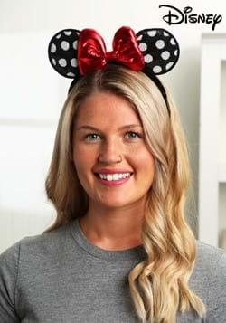 Minnie Mouse Polka Dot Sequined Ears Headband