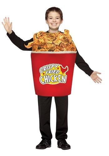 Childrens Bucket of Fried Chicken Costume