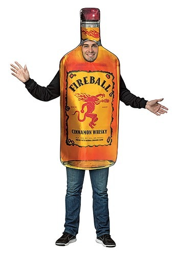 Adult Fireball Bottle Costume