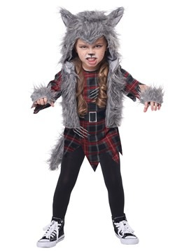 Girl's Wee-Wolf Costume