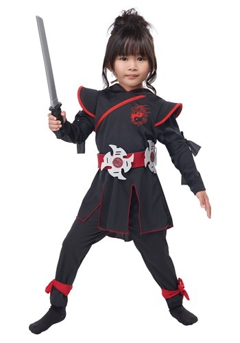 Lil' Ninja Girl Costume for Girls
