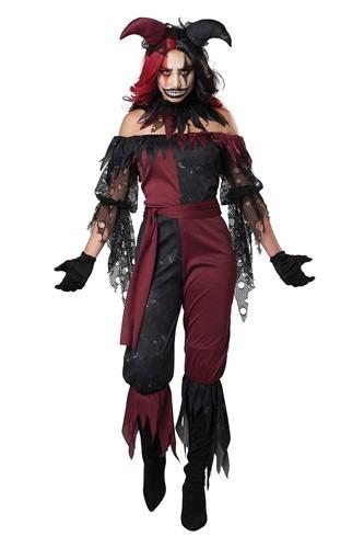 Psycho Jester Costume for Women