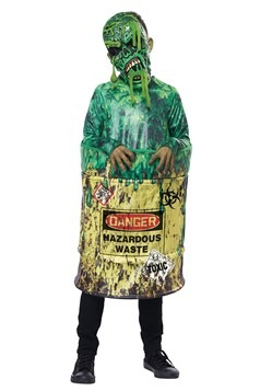 Child's Hazardous Waste Costume
