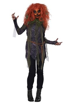 Women's Pumpkin Monster Costume