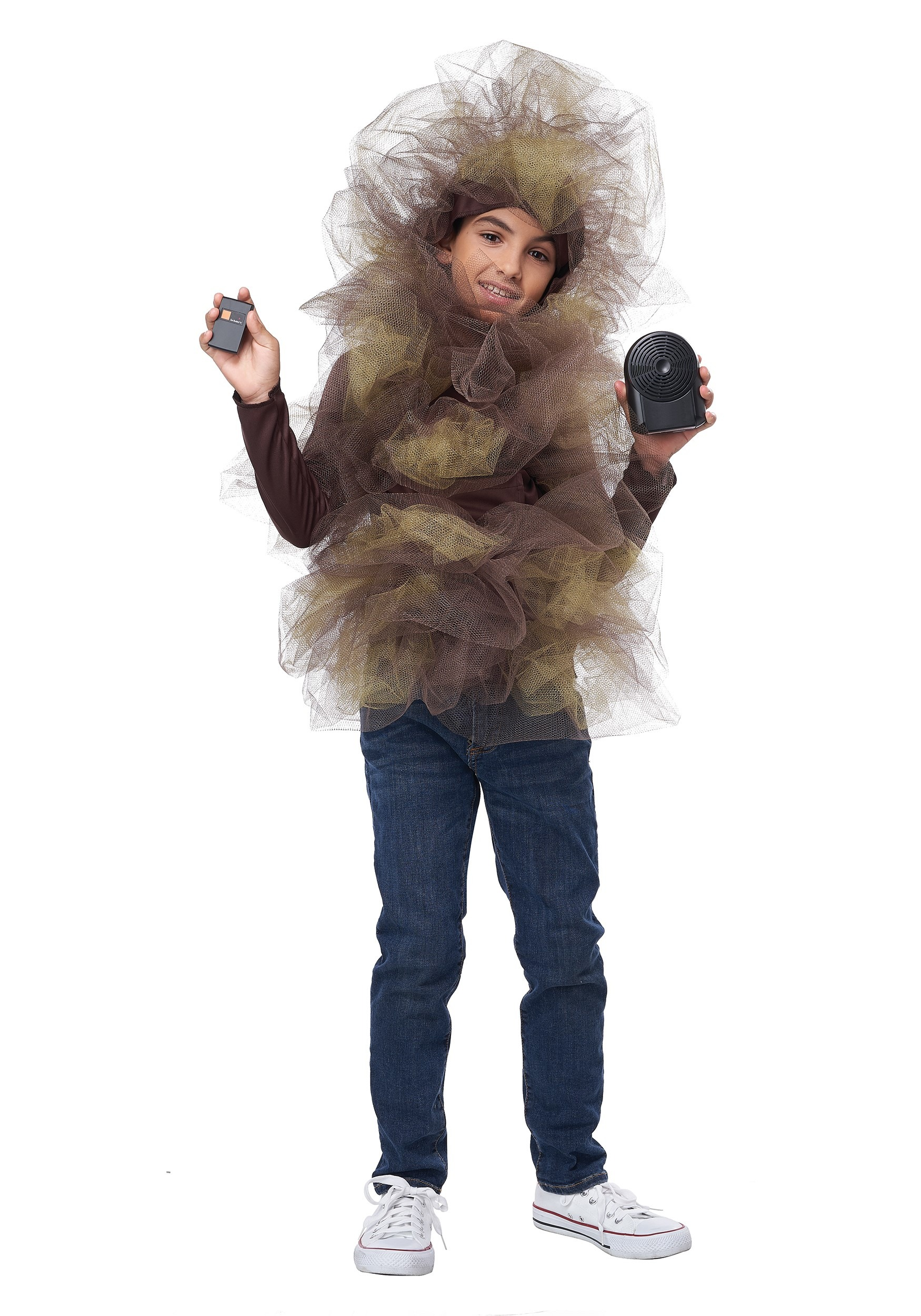 Fart Cloud with Sound Machine Costume for Kids