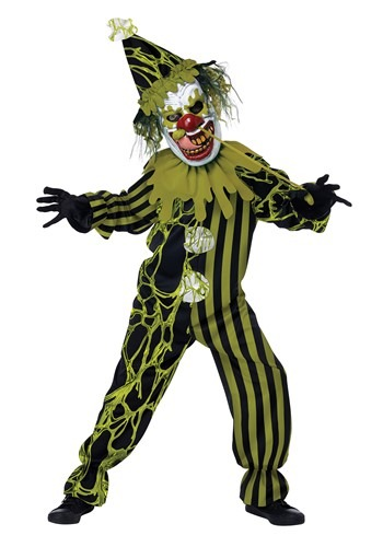 Boy's Boogers The Clown Costume