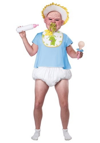 Big Booger Baby Costume for Adults