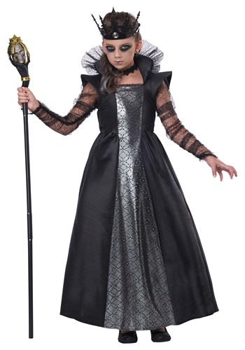 Girl's Dark Majesty Costume