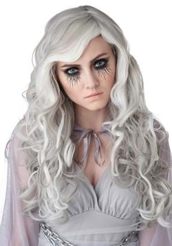 Women's Gray Glow In The Dark Wig
