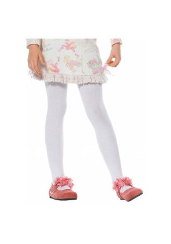 Click Here to buy Kids White Tights from HalloweenCostumes, CDN Funds