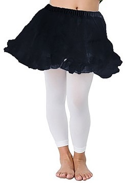 Kids Black Petticoat