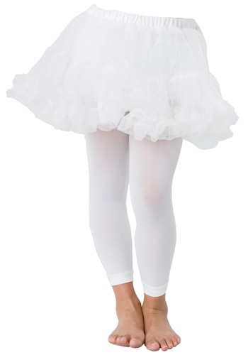 Kids White Petticoat By: Leg Avenue for the 2015 Costume season.