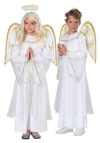 Kids Holiday Angel Costume