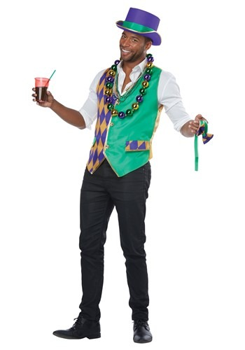 Adult Mardi Gras Vest Kit