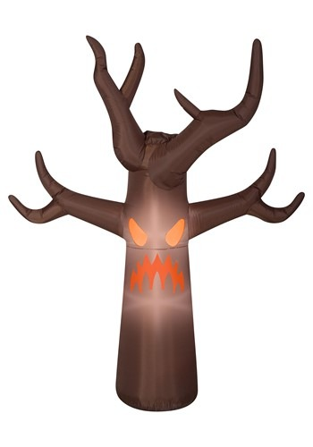Inflatable Fog Effect-Haunted Brown Tree Decoration