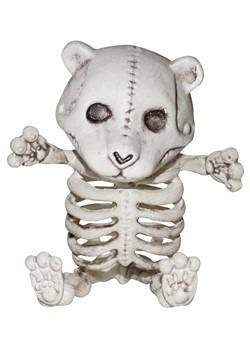 Skeleton Teddy Bear Decoratoin