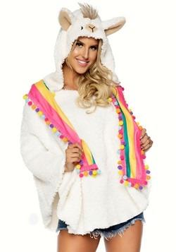 Women's Llama Poncho