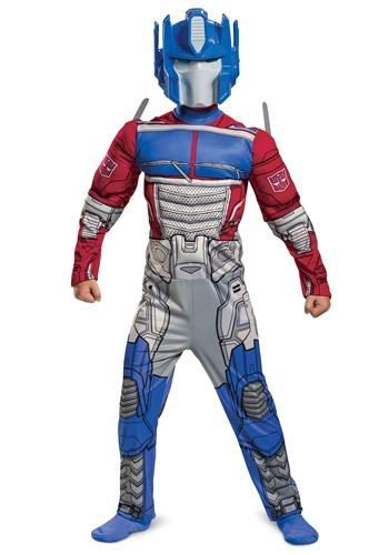 Transformers Child's Muscle Optimus Prime Costume