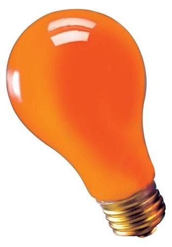 75w Orange Light Bulb