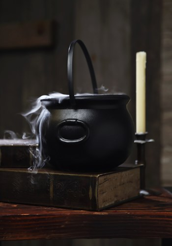 "8"" Witch Kettle Cauldron Decoration Update 1"