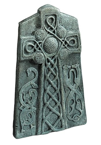 "Celtic Cross Tombstone 24"" Decoration"