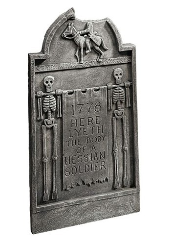 Headless Horseman Tombstone 20.5 Decoration