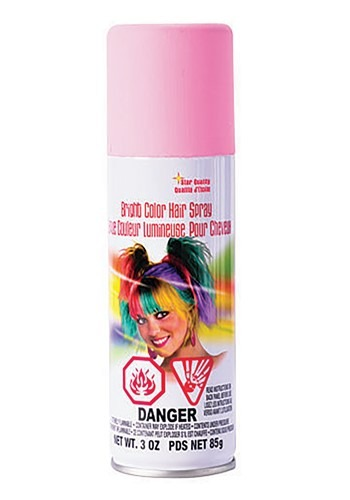 Pastel Pink Hair Spray