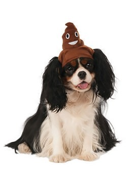 Poop Emoji Dog Costume Accessory