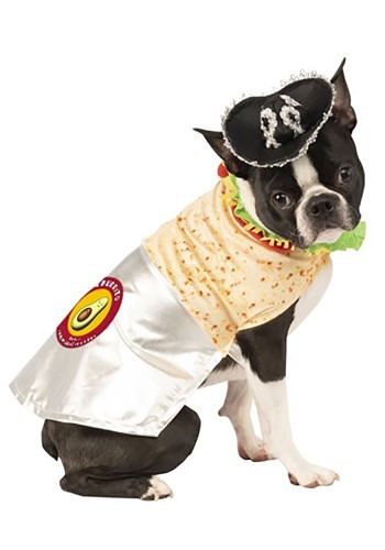 Delicious Burrito Dog Costume
