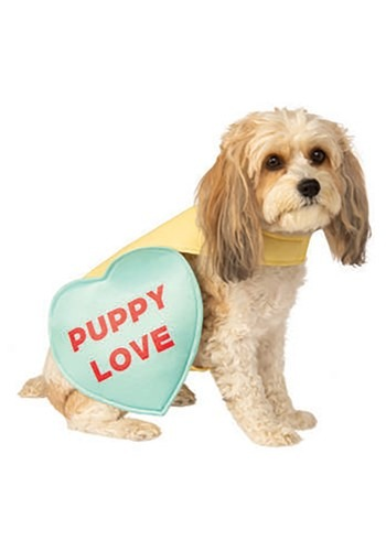 Valentine Candy Sweet Heart Dog Costume