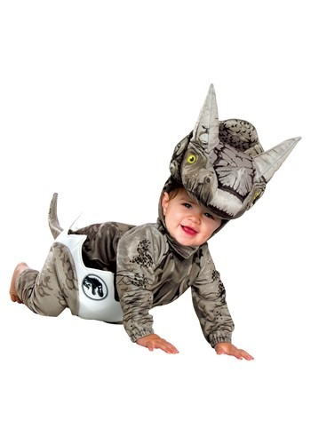 Jurassic World Hatchling Triceratops Infant Costume