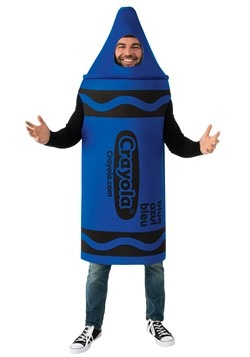 Crayola Blue Crayon Adult Costume