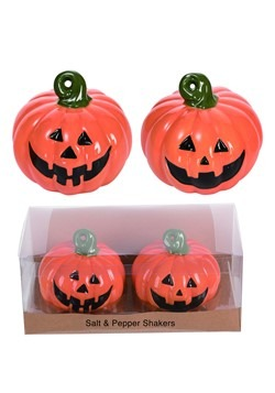 Jack-O-Lantern Salt/Pepper Shakers