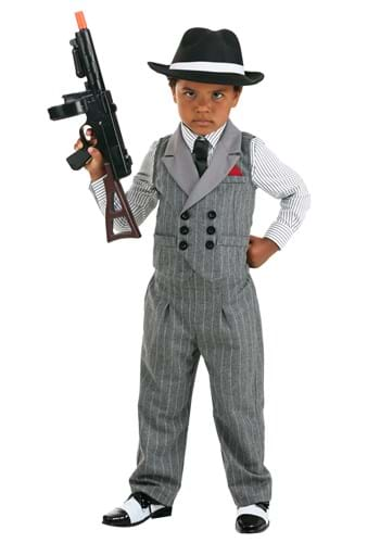 Ruthless Gangster Toddler Costume