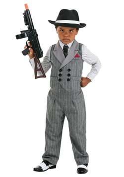 Toddler Ruthless Gangster Costume