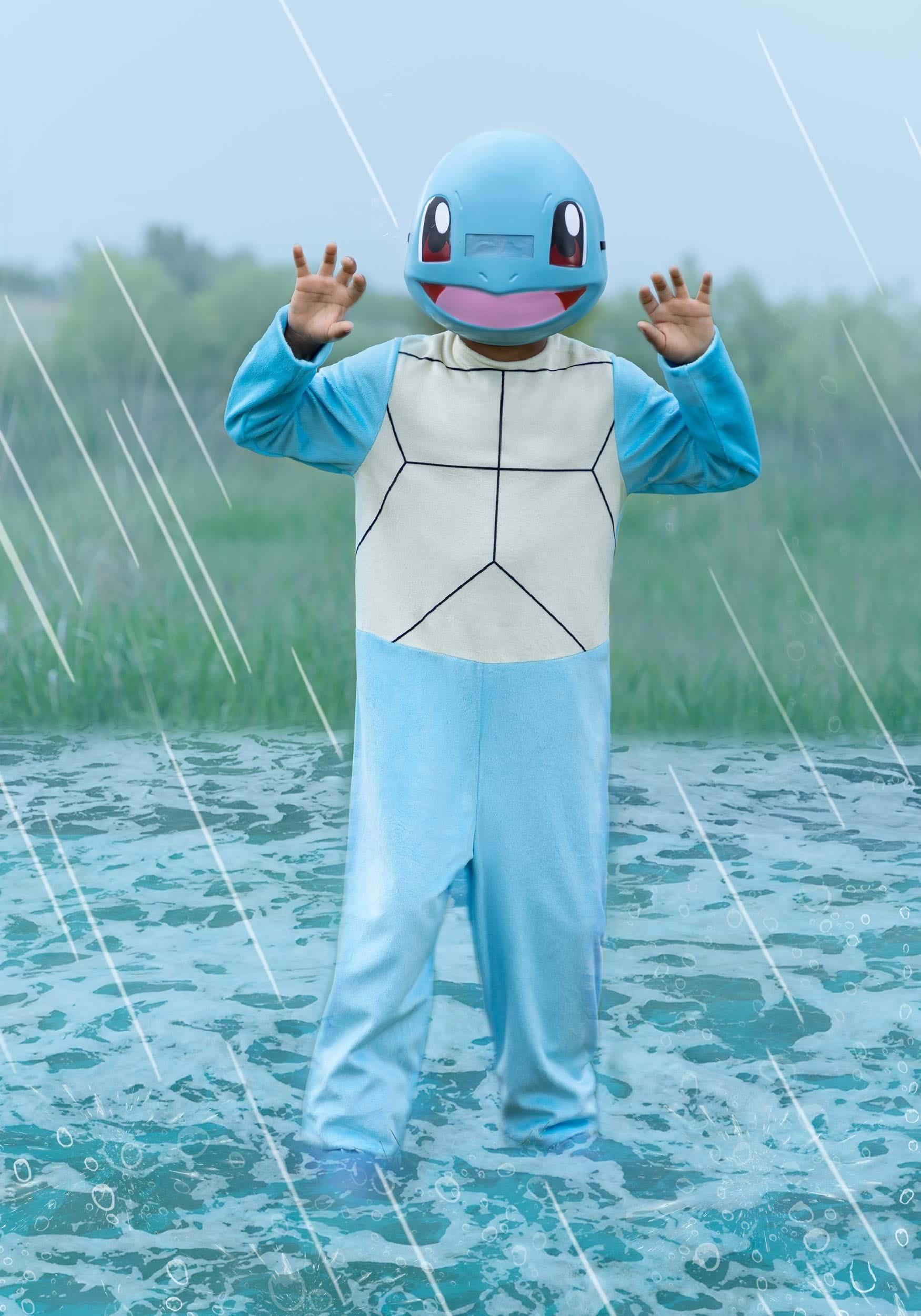 Pokemon Classic Squirtle Child Costume