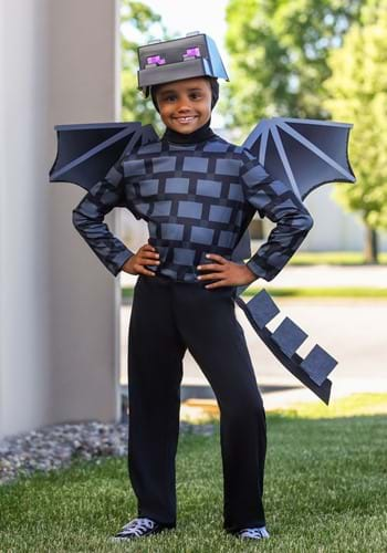 Child Minecraft Classic Ender Dragon Costume