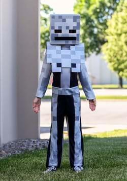 Child Minecraft Classic Skeleton Costume DLC