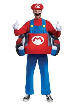 Adult Mario Kart Inflatable Kart Costume