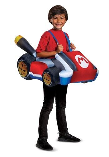 Child Mario Kart Inflatable Kart Costume