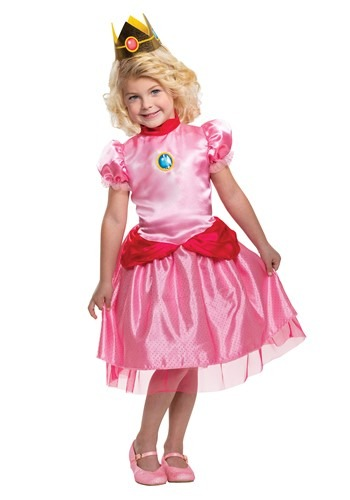 Toddler Super Mario Toddler Classic Princess Peach Costume